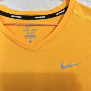 Nike Shirts - Nike | EUC Men's Dri Fit V-Neck Running Tee Medium